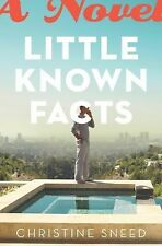 Christine Sneed - Little Known Facts (2013) - Used - Trade Cloth (Hardcover