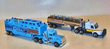 CONVOY CY15 MB TV NEWS  & CY 15 SHELLTANKER WITH SCANIA TRACTOR DIECAST