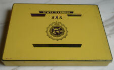 Vintage Empty Tin Box of 50cigarettes STATE EXPRESS 555 /Ardath,London/Numbered.