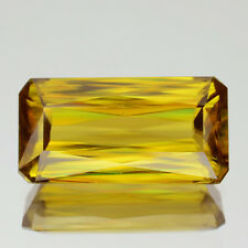 5.52CT Natural Unheated Gem VVS Dazzling Yellow With Multi 5A Luster SPHENE