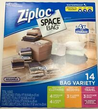 Ziploc Space Bags 14 Bag Variety Upto 4X the storage