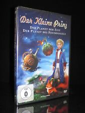 DVD DER KLEINE PRINZ - DER PLANET DER ZEIT + PLANET DES FEUERVOGELS - 2 FILME *