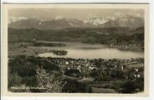 AK Pörtschach am Wörther See, Panorama, Foto-AK 1935