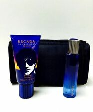 ESCADA SUNSET HEAT BY ESCADA 3PC 1.7 OZ EDT SPRAY SET MEN COLOGNE FOR MEN RARE