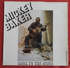 MICKEY BAKER  LP ORIG FR BACK TO THE BLUES + TABLATURES