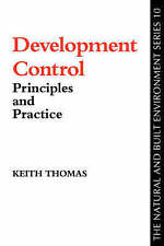 Development Control (The Natural and Built Environment