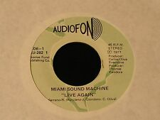 Miami Sound Machine-Live Again/Without Your Love-RARE 1977 45-CLEAN!