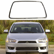For Mitsubishi Lancer-Ex 07-14 Front Bumper Radiator Molding Grill Chrome Trim