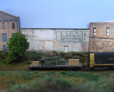 #245 N scale background building flat   SELZ   *FREE SHIPPING*