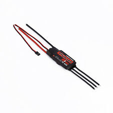 80A 2-6S Brushless ESC Speed Controller RC Airplane for Hobbywing Skywalker AU