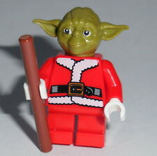 STAR WARS #17 Lego Yoda Santa w/staff NEW 75017 Head Genuine Lego Parts
