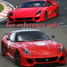 *For FERRARI 599XX 1:10 RC On-Road Drift Model Car PC Transparent BODY SHELL