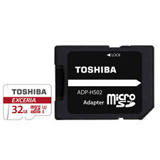 32GB Toshiba Exceria Micro SD SDHC Memory Card 90MB/s with SD Card Adapter 32GB