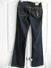 "Baby Phat Juniors Dark Blue Denim Stretch Jeans SIZE 3/22 NWOT, 33"" L"