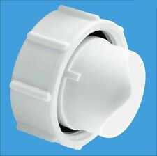 McALPINE SM10EPLUG Cap Plug for SM10E Extended Bath Trap