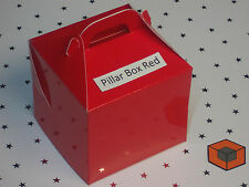 10  ~~~ Single CUPCAKE / MUFFIN  ~~~ boxes 80 x 80mm  in various colours
