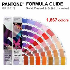 Pantone Plus Series GP1601N Color Formula Guide Solid Coated & Uncoated 2016 NEW