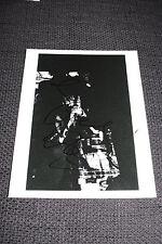 Butthole Surfers Gibby Haynes signed autógrafo en 20x25 cm foto inperson rar
