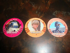 Star Wars---Episode-1---Taco Bell---Game Medallion Lot Of 3---R2D2/Anakin/C-3PO