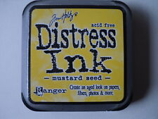 "TIM HOLTZ DISTRESS INK PAD MUSTARD SEED FULL SIZE 2"" BNIP *LOOK*"