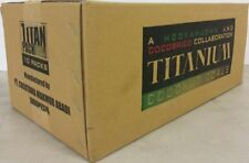 1080 Ct Titanium Coconut Coal Hookah Charcoal Coco Flats Nara 10 KG Lounge Box