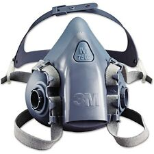3M 7502 Medium. REUSABLE SILICONE HALF MASK / RESPIRATOR / 7500 Series Genuine