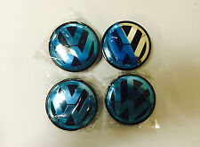 4 x VW Alloy Wheel Center Caps 65 mm  Fits Most Models P/N: 3B7 601 171