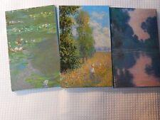 Claude Monet Impressionist Art Notebooks Journal Address Blank Books Sleeve