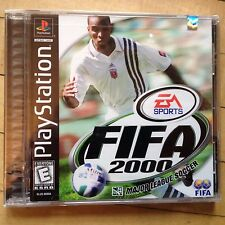 FIFA 2000: Major League Soccer PS1 (Sony PlayStation 1, 1999) Tested, CIB BGH mb