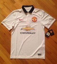 Manchester United 14/15 Away Model NIKE Short Sleeve Jersey Sz S 611032-106 $90