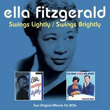 Ella Fitzgerald - Swings Lightly / Swings Brightly - Two Original Albums 2CD NEW