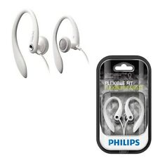 PHILIPS SHS3200 In Ear Headset Flexible Earhook Headphones Secure fit White