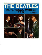 THE BEATLES- PAPERBACK WRITER / RAIN-5.0/9.4