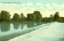 Chillicothe,OH. The State Dam 1910
