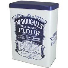 Self Raising Flour tin McDougall's. Large Self Raising flour tin