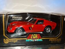 Bburago 1962 Ferrari 250 GTO Burago 1:18 Scale Die Cast Metal Model Italy Car