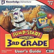 Jump Start 3rd Grade Mystery Mountain with Users Guide, New