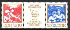 Germany / DDR - 1972 Union congress Mi. 1761-62 zd MNH