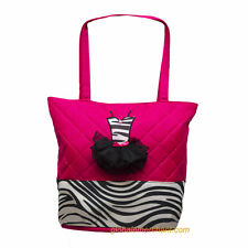 Dance Zebra Tutu Tote Bag