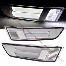CHROME FRONT BUMPER LED SIDE MARKER LIGHT LAMP FITS FOR 03-07 INFINITI 2DR COUPE