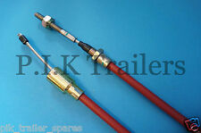 FREE P&P 1 x Stainless Steel 930mm Trailer Brake Cable for Knott  Ifor Williams