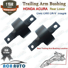 Honda Rear Lower Trailing Arm Bushing Pair Set for Civic CR-V CRX Acura Integra