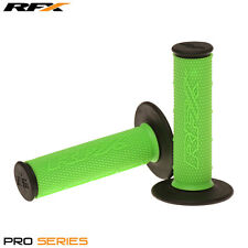 RFX Dual Density Grips Soft-Mid Compound GREEN BLACK Motocross Enduro