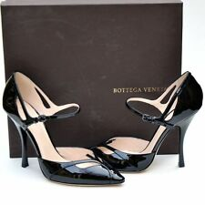 BOTTEGA VENETA New sz 39 - 9 Womens Designer Black Heels Shoes $790.00