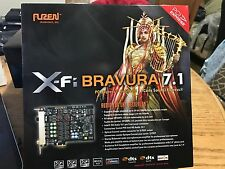 Auzentech X-Fi Bravura 7.1 PCI Express Audio Card