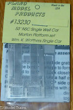 Plano #13230 NSC 53' Well Car Replacement Walkway Platform Set -For Walthers Car