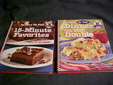 THE BEST OF MR. FOOD Cook Book Lot  Dinner on the Double 15 Minute Favorites f