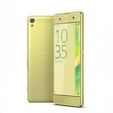 "DOW 01 :New Imported Sony Xperia XA Dual SIM 4G LTE 16GB 2GB 5"" Lime Gold"