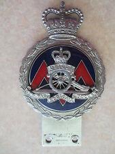 Vintage Royal Artillery Association car badge for Jaguar Morris MG Riley Daimler