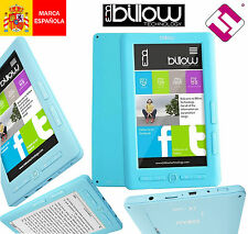 LECTOR DE LIBROS MULTIMEDIA COLOR AZUL EBOOK BILLOW E2TLB - 4GB - 800X4 E2TLB 7